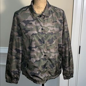 American Eagle Outfitters Camouflage Jacket